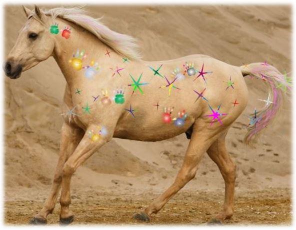 bemalung bei pferden